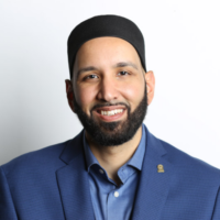 Shaykh Omar Suleiman is the Founder and President of the Yaqeen Institute for Islamic Research, and an Adjunct Professor of Islamic Studies in the Graduate Liberal Studies Program at SMU (Southern Methodist University). He is also the Resident Scholar at Valley Ranch Islamic Center and Co-Chair of Faith Forward Dallas at Thanks-Giving Square.